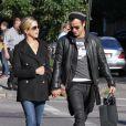Jennifer Aniston  et Justin Theroux à New York le 18 septembre 2011
