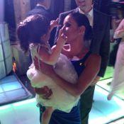 Eva Longoria : Au mariage de son ex Mario Lopez, elle craque pour sa fille, Gia
