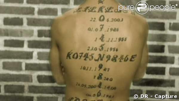 L'étrange secret tatoué de Cyril !