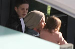 Victoria et David Beckham : Retour définitif à Londres ? Leur fils vend la mèche