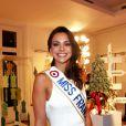 Marine Lorphelin, Miss France 2013 à la 17e édition des sapins de Noël des créateurs à l'hôtel Salomon de Rothschild à Paris le 10 decembre 2012.