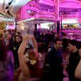 La soirée des 100 ans de la coupole des Galeries Lafayette le 12 décembre 2012