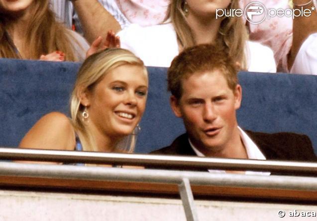 Le prince Harry et Chelsy