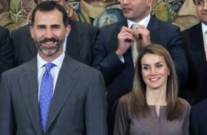 Letizia et Felipe d'Espagne : Sublimes et élégants lors d'une grande réception