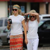 Kim Basinger : Avec sa fille Ireland, son portrait craché, en vacances à Hawaï
