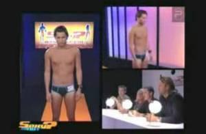 VIDEO : Découvrez John-David de 'Secret Story' (en sous-vêtements) dans l'émission 'Sexy or not' !