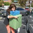 Tiffani Thiessen fait ses cadeaux de Noël à Los Angeles le 17 décembre 2012.