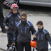 Elena d'Espagne : Après le cheval, les skis pour suivre Victoria et Felipe