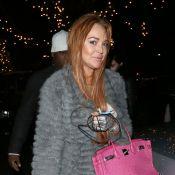 Lindsay Lohan : Shopping et fiesta du Nouvel An à Londres. Avec quel argent ?