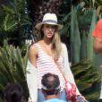 L'actrice Jessica Alba passe le début de l'année 2013 avec sa petite famille à Cabo San Lucas au Mexique. Photo prise le 3 janvier 2013.