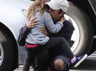 Halle Berry : Tendres bisous à sa fille Nahla partie rejoindre son papa