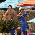 Jessica Alba passe le début de l'année 2013 avec son mari et ses filles à Cabo San Lucas au Mexique. Photo prise le 3 janvier 2013.