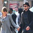 Jessica Biel et Justin Timberlake, jeunes mariés, se rendent au cinéma voir le film Skyfall à New York, le 11 novembre 2012.