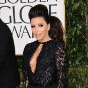 Golden Globes 2013 : Eva Longoria et Lea Michele, somptueuses en robe fendue