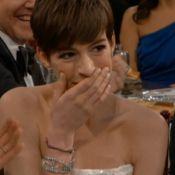 Golden Globes : Anne Hathaway sans culotte, Gérard Depardieu et autres blagues