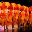 La troupe du Moulin Rouge le 1er novembre 2012.