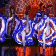 French Cancan au Moulin Rouge. Jacki Clerico, grande figure de l'histoire du  Moulin Rouge  à Paris, s'est éteint le 13 janvier 2013.