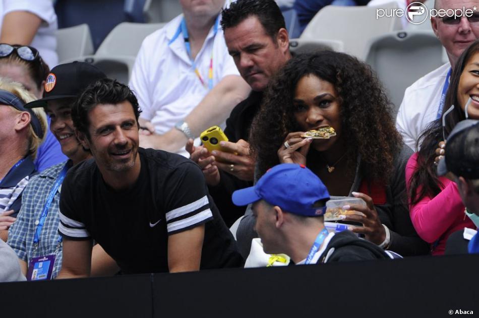 Serena Williams et Patrick Mouratoglou Serena Williams Affamée et
