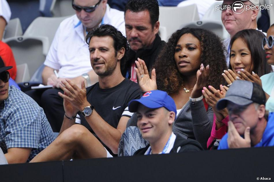 Serena Williams et Patrick Mouratoglou Serena Williams et Patrick