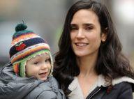 Jennifer Connelly : Inséparable de sa fille Agnes, elle l'emmène en tournage