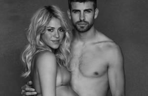 Shakira, enceinte, exhibe son ventre rond en bikini avec son beau Gerard Piqué
