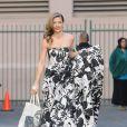 AnnaLynne McCord superbe dans une robe bustier sur le tournage de 90210 le 16 janvier 2013 à Los Angeles