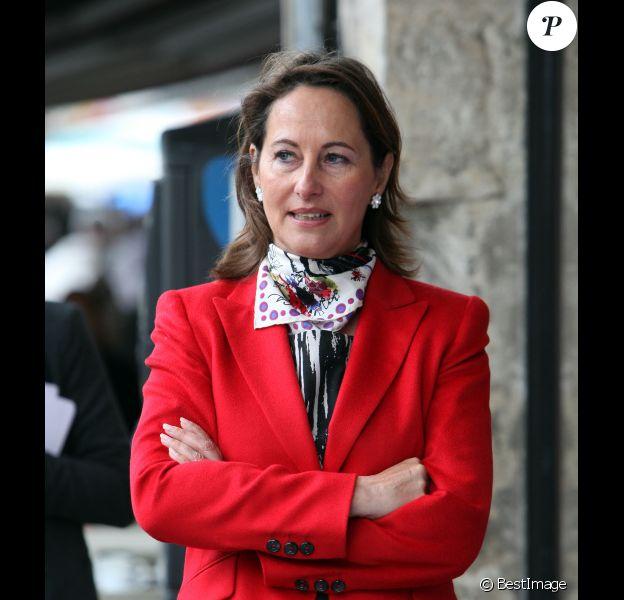 Ségolène Royal, à la Rochelle, lors des élections législatives, le 16 juin 2012.