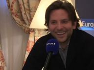 """Bradley Cooper, sur Europe 1 : """"Je veux des enfants en France"""""""