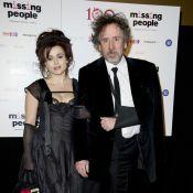 Helena Bonham Carter, décolleté et gothique pour Tim Burton face à Emily Blunt