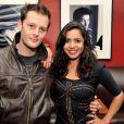 Nicolas Duvauchelle et Paloma Contreras lors de l'avant-première du film Mariage à Mendoza le 22 janvier 2013