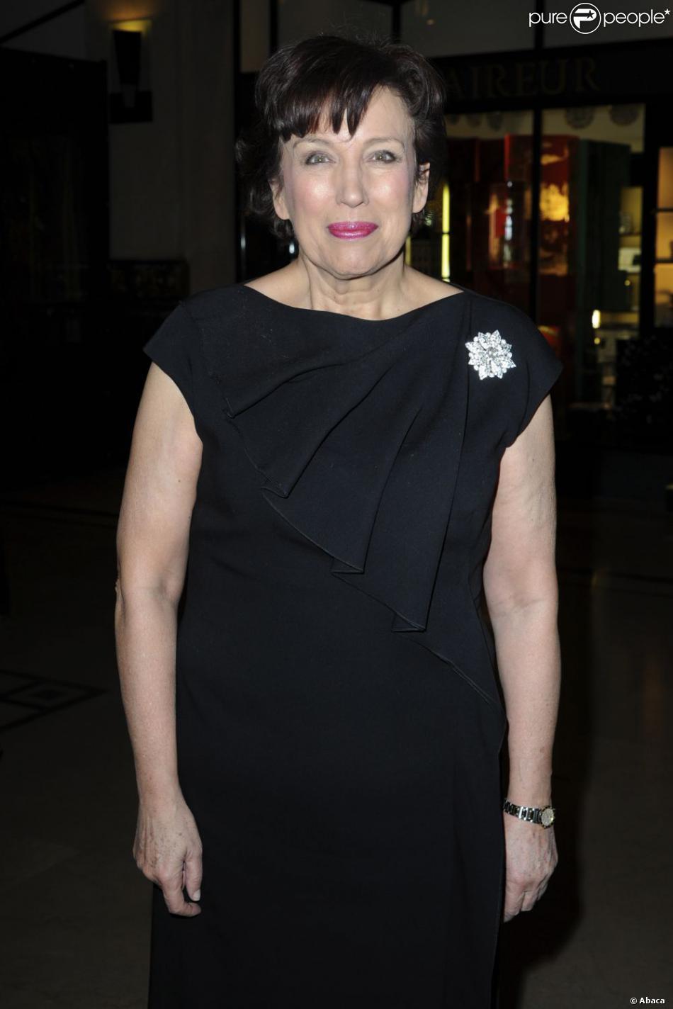 Roselyne Bachelot à l'ouverture du magasin de prêt-à-porter  Lady R Forrest  à Paris, le 23 janvier 2013.