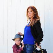 Poppy Montgomery enceinte : Jackson, son fils prend son rôle de frère au sérieux