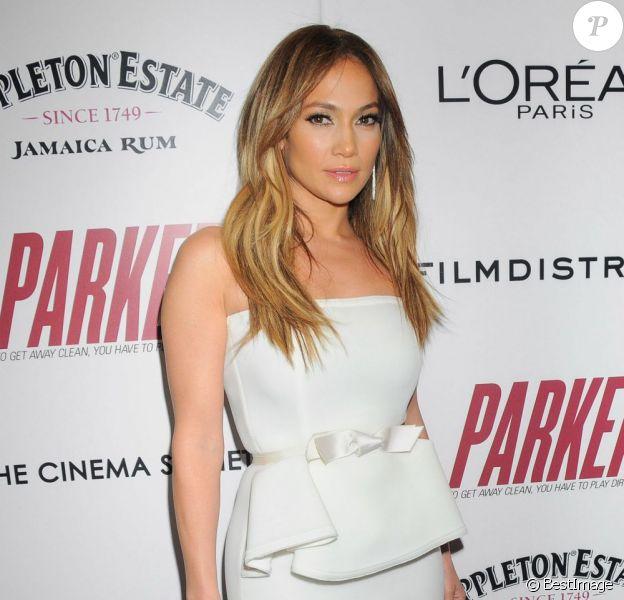 """Jennifer Lopez à la première de son film """"Parker"""" au Musée d'Art Modernes de New York, le 23 janvier 2013."""