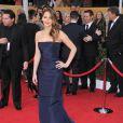Jennifer Lawrence lors des Screen Actors Guild Awards à Los Angeles le 27 janvier 2013