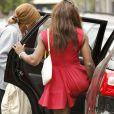 """""""Serena Williams très en formes lors d'une sortie shopping avec son coach Patrick Mouratoglou le 26 janvier 2013 à Melbourne"""""""