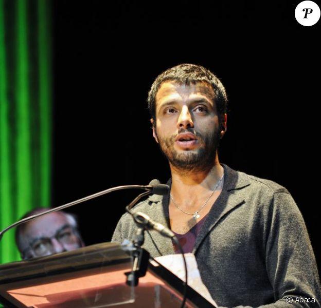 Mabrouk El Mechri lors de la remise des Fipa d'or le 26 janvier 2013 à Biarritz