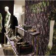 Exclusif - Cocktail de présentation de la collection Camouflage de Valentino au Montaigne Market. Paris, le 16 janvier 2013.