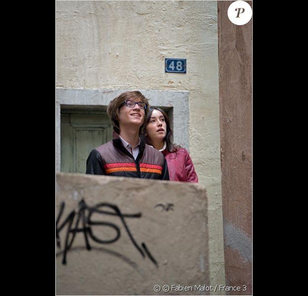 Coline d'Inca et Louis Duneton dans Plus Belle La vie sur France 3