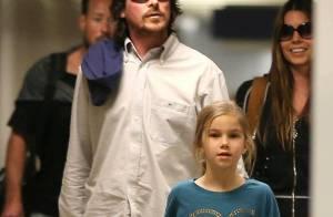 Christian Bale : Avec sa femme et sa fille, Batman se transforme en papa poule