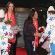 Pauline Ducruet donnait le samedi 2 février le coup d'envoi du Festival New Generation des arts du cirque en tant que présidente du jury, accompagnée de sa mère Stéphanie de Monaco et de sa jeune soeur Camille Gottlieb au chapiteau de Fontvieille à Monaco
