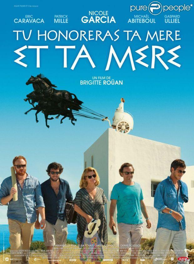 Affiche du film Tu honoreras ta mère et ta mère, en salles le 6 février 2013