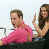 Kate Middleton, enceinte, et William : Pause en amoureux sur l'île Moustique
