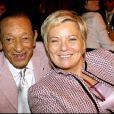 Henri Salvador et sa femme Catherine à Paris, le 29 octobre 2007.