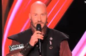 The Voice 2 - Luc Arbogast, l'ovni: 'Je n'ai pas eu la chance d'écouter Jenifer'