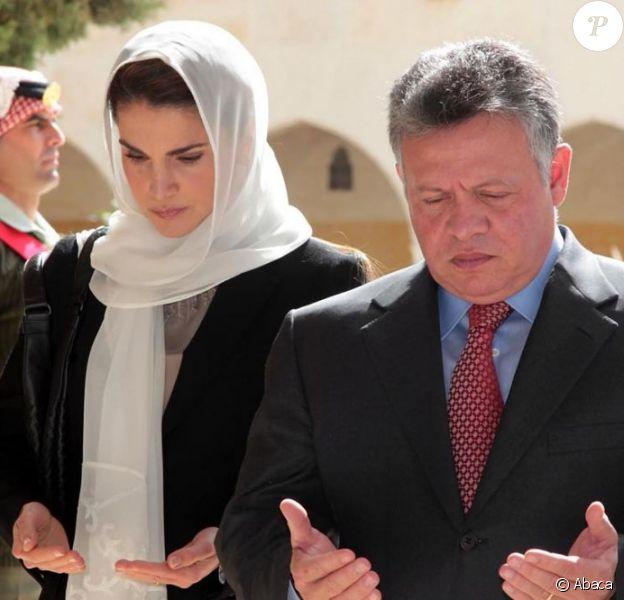 Rania Et Abdullah De Jordanie Recueillis Pour Les 14 Ans De La Mort D Hussein Purepeople