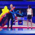Gérad Vives lors du premier prime de Splash, le 8 février 2013 sur TF1.