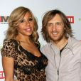 Cathy et David Guetta à Hollywood, le 12 février 2012.