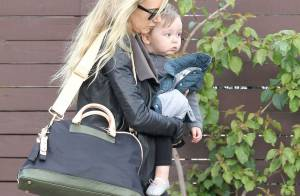 Kimberly Stewart, rock et chic : Balade dominicale avec son adorable Delilah