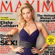 Elisha Cuthbert élue la femme la plus sexy de la télévision par le magazine Maxim, dans son issue du mois de février 2013.