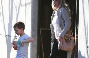 Britney Spears, sortie au parc avec ses fils : Epuisée mais maman dévouée !
